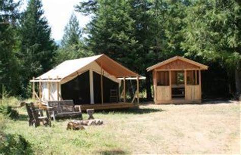 huckleberry tent and breakfast idaho tent cabin rental