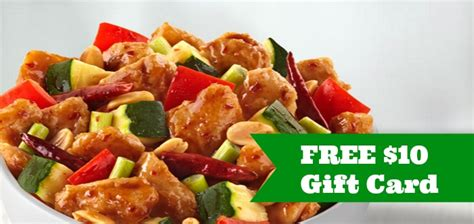 Panda Express Gift Cards - hot free 10 panda express gift card