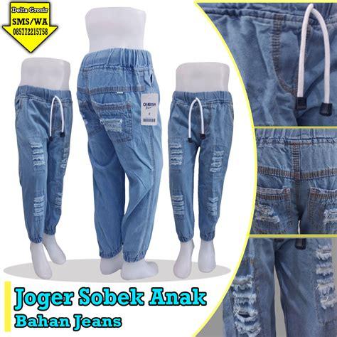 Celana Anak Jogger Murah by Grosir Celana Jogger Sobek Anak Murah 35ribuan 0857 7221