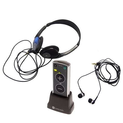 comfort audio duett comfort duett personal listener with earphone headphone