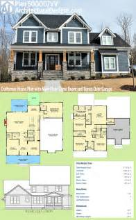 house and floor plans plan 500007vv craftsman house plan with floor