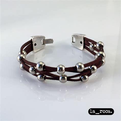 nudos para pulseras cuero pulsera perugia de quot la roca quot hecha a mano pulsera de