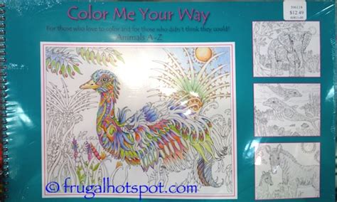 coloring books for adults costco frugal hotspot