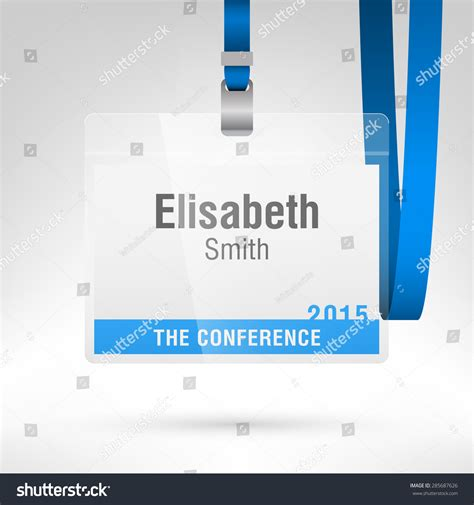 conference id card template conference id card template 28 images conference id