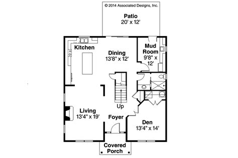 Cape House Floor Plans Cape Cod House Plans Hanover 30 968 Associated Designs