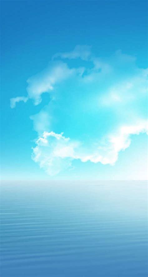 wallpaper pemandangan langit stok wallpaper