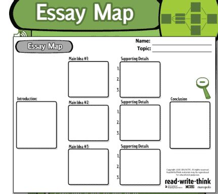 Expository Essay Maps by Essay Map My
