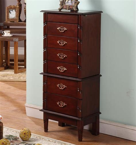 jewelry armoire ideas armoire cool cherry wood jewelry armoire ideas cherry
