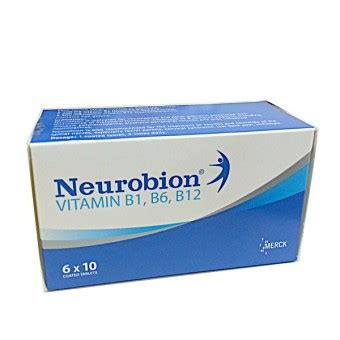 Vitamin Neurobion neurobion vitamin b1 b6 b12 6x10 coated tablets