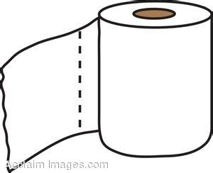 toilet paper clip art picture a roll of toilet tissue