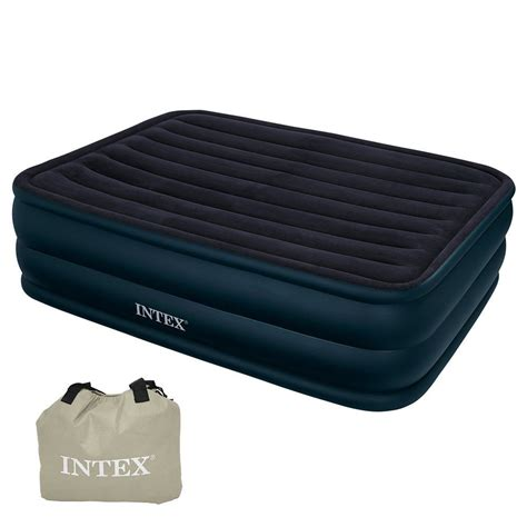 intex 66718 raised air bed with built in electric ebay