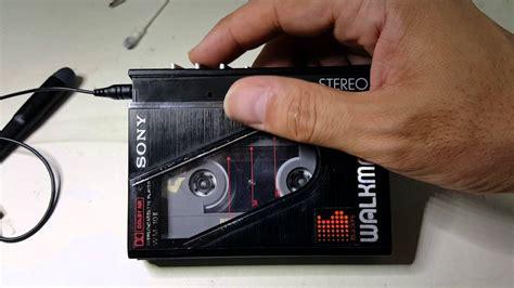 cassette walkman sony walkman wm 10 ii portable cassette player