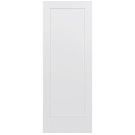 jeld wen interior doors home depot jeld wen 32 in x 80 in moda primed white 1 panel solid