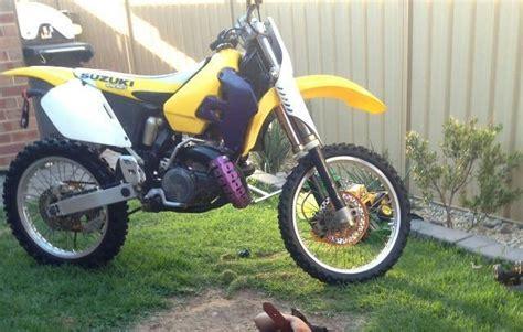 1997 Suzuki Rm 125 Specs 1997 Rm125 Restoration School Moto Motocross