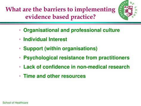 Implementing Evidence Based Practice A Review Of The Empirical Research Literature ppt research for practice the origins and importance of evidence based practice ebp