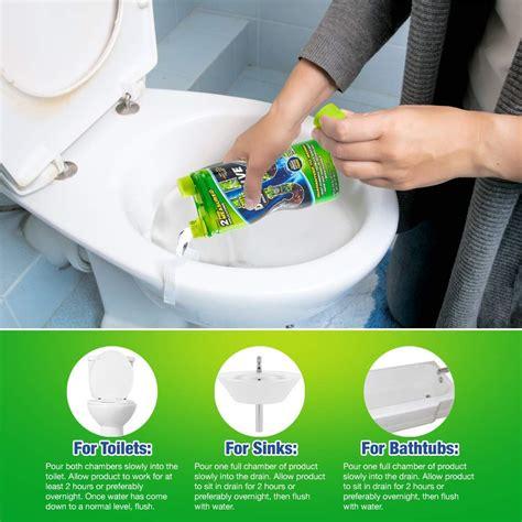 dissolve liquid hair grease clog remover drain opener drain cleaner  ebay
