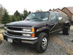 sell used 2000 chevy 3500 dually 4x4 diesel truck in