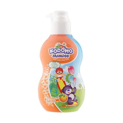 Kodomo Shoo Botol 200ml jual kodomo ksg200o shoo gel botol orange 200ml harga kualitas terjamin blibli