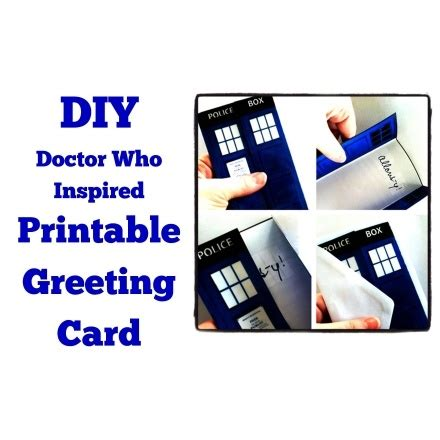 1000 Images About Cards Tardis On Pinterest Dr Who Easels And The Tardis Doctor Who Birthday Card Template