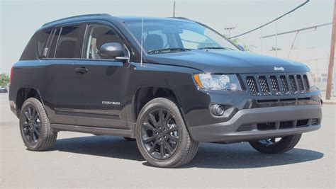 All Black Jeep Compass 2012 Jeep Compass Altitude 4 215 4 Ruggedly Handsome G