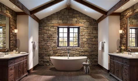 Modern Rustic Bathroom Charming Rustic Bathroom Design Ideas Abpho