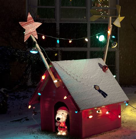 build snoopy dog house building snoopy s dog house for christmas remodern ranch