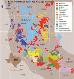permian basin map wolfc shale investing