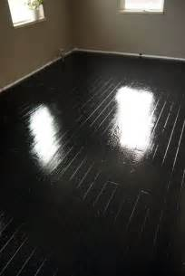 how to paint wood floors black think i want to try