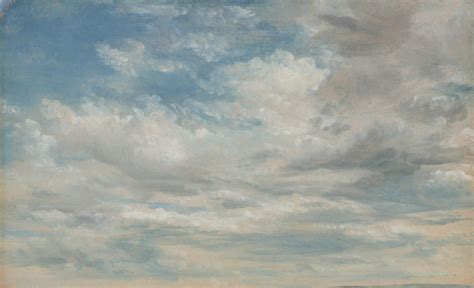 Snow White Wall Mural clouds john constable ngv view work