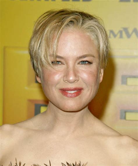 Podcast 2 2007 Makeuphair Trends by Renee Zellweger Casual Hairstyle