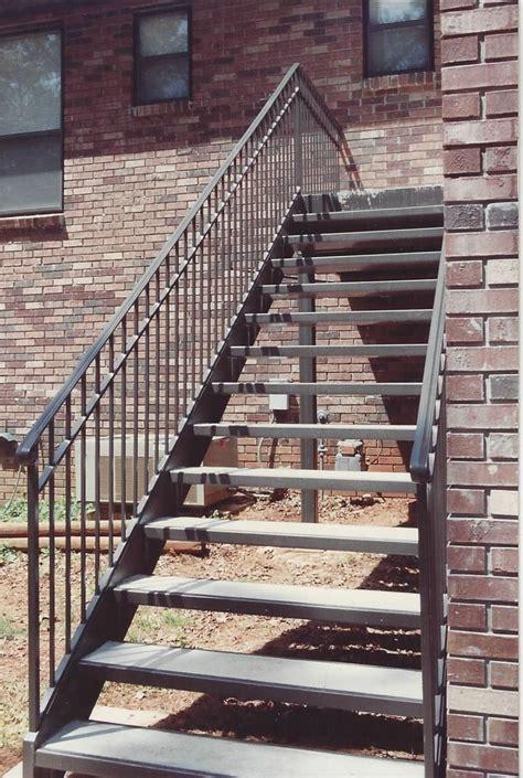 straight metal stairs birmingham al allen iron works