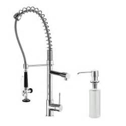 industrial faucets kitchen kitchen faucet set kraususa