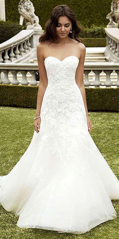 simple wedding dresses  elegant brides girlish