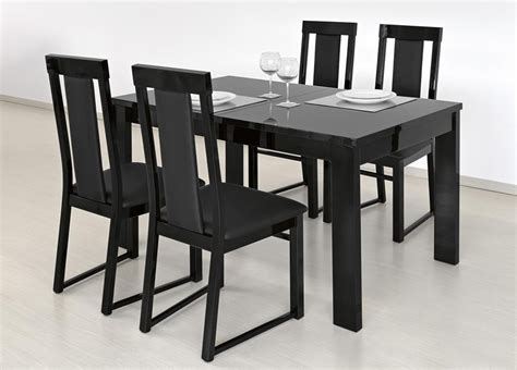 black glass dining table best dining table ideas ideas of black extending dining tables room on space
