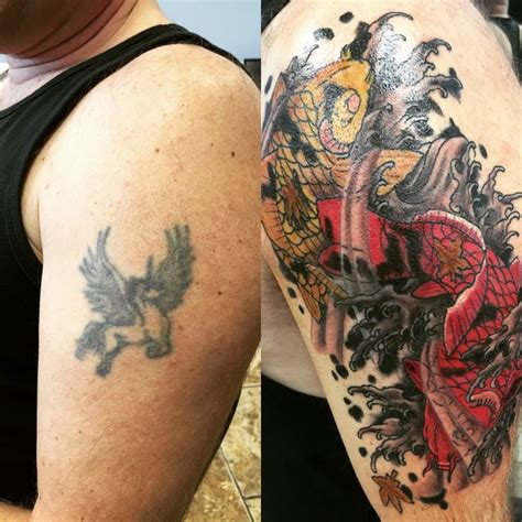 diamond tattoo cover up ideas before and after covered up an old beat bad idea