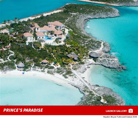 prince house turks and caicos prince check out my island paradise tmz com