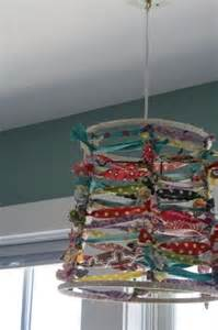 how to make a fabric chandelier 25 best ideas about fabric chandelier on l