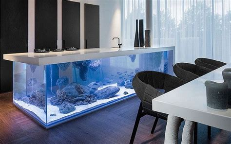 Fish Tank Dining Room Table by Custom Fish Tanks Design Tropical Saltwater Freshwater Fish
