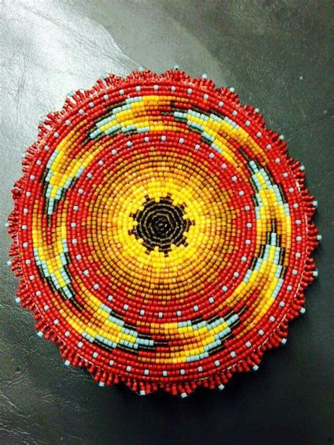 beaded rosettes patterns beadwork beadwork beautiful design and