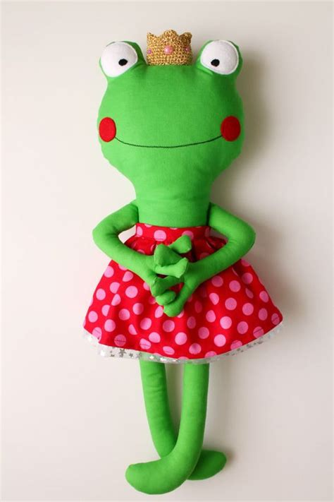 Handmade Toys Patterns - the frog princess custom listing toys