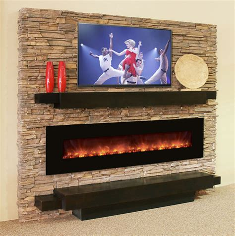 Living Room With Electric Fireplace by Modern Flames Electric Fireplace