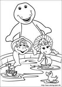barney coloring pages barney and friends coloring picture