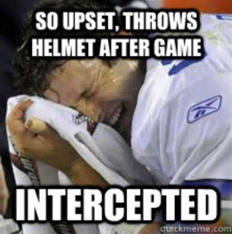 Tony Romo Interception Meme - 2014 dallas cowboys scores memes
