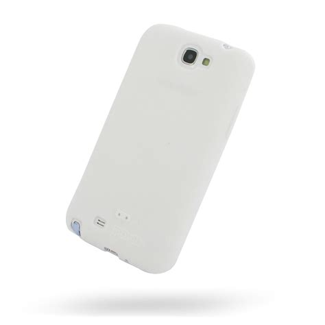 Softcase Silicon Millenium Samsung Galaxy Note 2 samsung galaxy note 2 luxury silicone soft white pdair