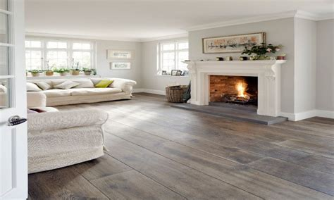 grey wood floors modern interior design an openconcept living room with a modern grey sectional