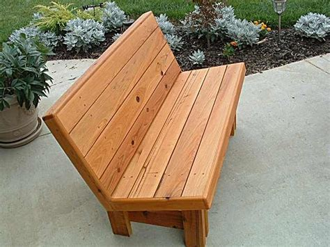 park bench plans outdoor furniture plans wood bench
