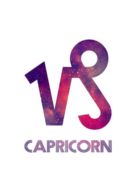 capricorn zodiac sign symbol