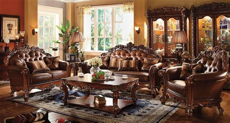 vendome traditional formal dining room cherry finish von furniture vendome formal living room set in cherry