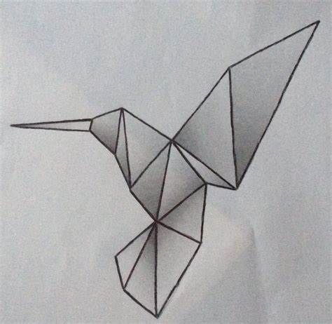 Origami Humming Bird - 1000 images about tattoos on