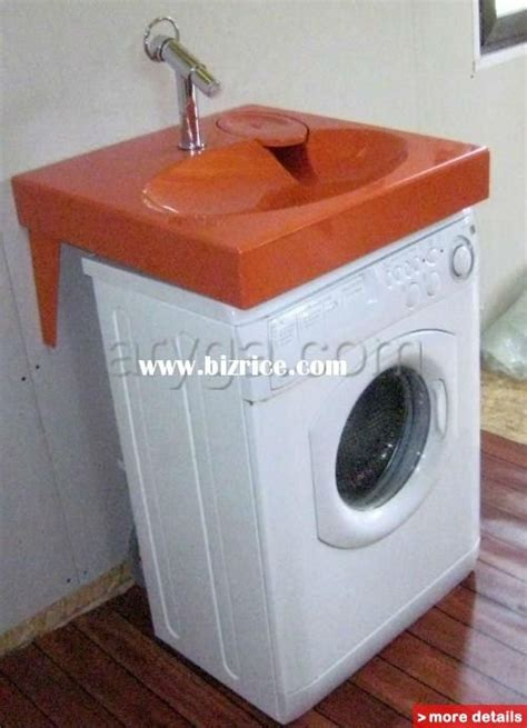 washing machine sink space saving washbasin flat bathroom sink fits above